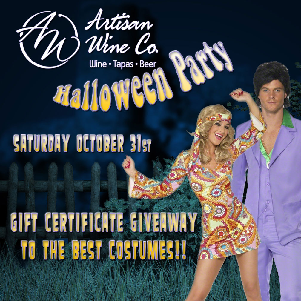 Halloween Party Saturday October 31st – Artisan Wine Company